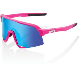 100% S3 Gafas, pink/hiper mirror